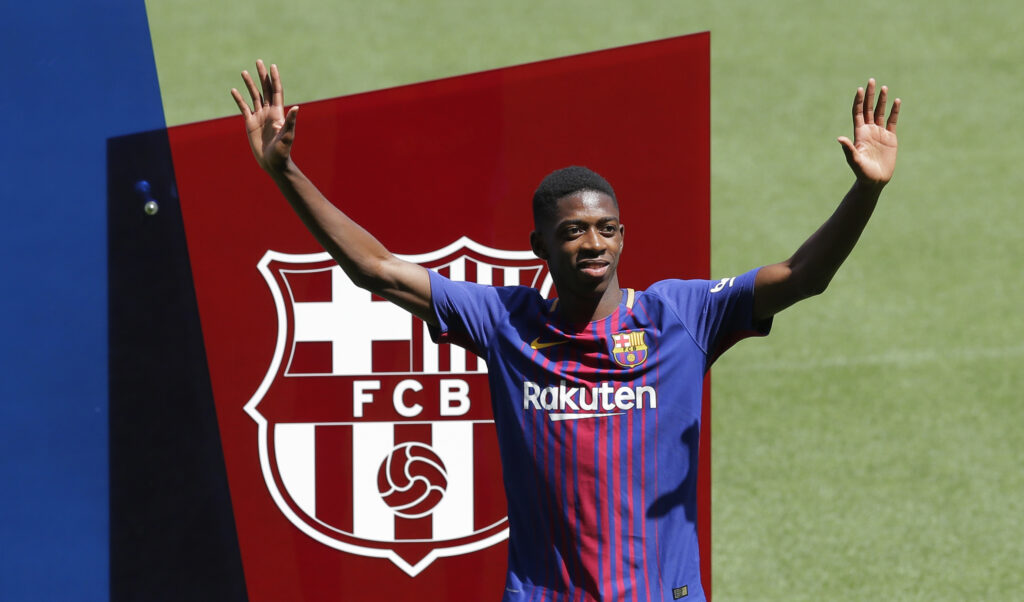 Ousmane Dembele Drops Huge Hint Over Coutinho s Future