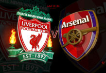 Liverpool Vs Arsenal Head To Head