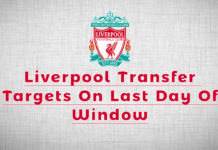 Liverpool Transfer Targets
