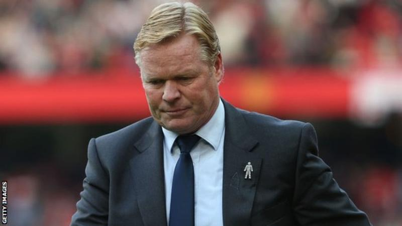 Ronald Koeman sacked