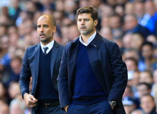 Pep Guardiola faces Mauricio Pochettino this weekend