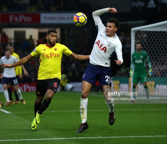 Spurs v Watford frustration for Pochettino