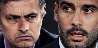 Pep Guardiola v José Mourinho