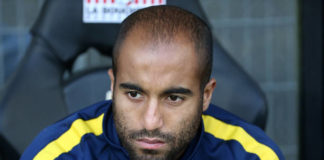 Lucas Moura at PSG