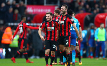 Bournemouth celebrate as Arsenal miss Sanchez