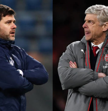 Pochettino and Wenger Put Aubameyang and Kane head to head