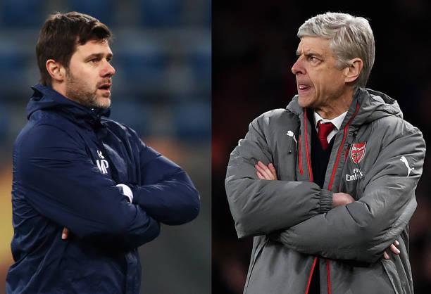 Pochettino and Wenger Put Aubameyang and Kane head to head