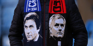 José Mourinho and Antonio Conte go head to head.