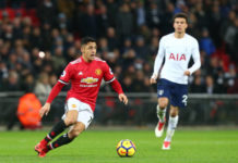 January transfer window headliner Alexis Sanchez for Utd against Spurs