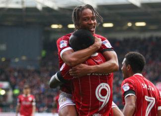 Bristol City celebrate