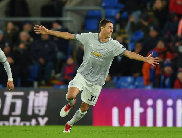 Matic celebrates his first United goal