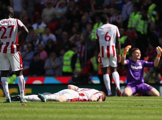 Stoke City relegated