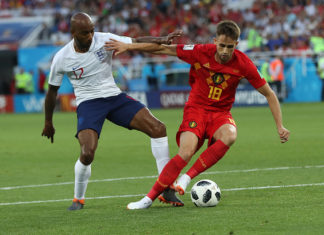 Januzaj scores the winner against Belgium