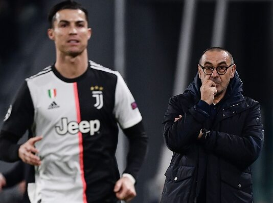 Maurizio Sarri Ronaldo