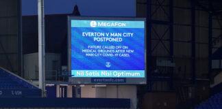 Everton Manchester City Coronavirus