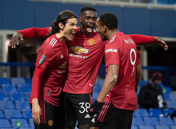 Manchester United Edinson Cavani