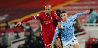 Manchester City Break Anfield Curse