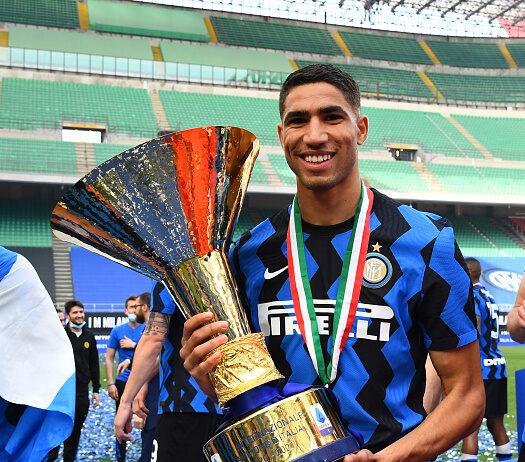 Achraf Hakimi Set To Leave Inter Milan