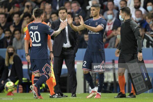 Achraf Hakimi Praises Lionel Messi